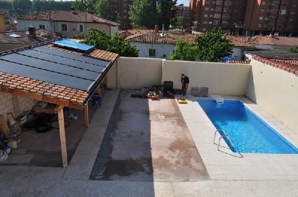Geotermia fr o calor piscina en burgos for Piscinas ubierna burgos